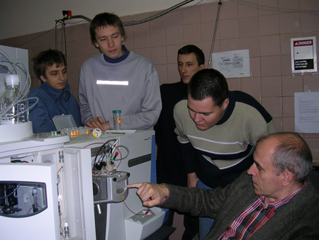 Лаборатория масс-спектрометрии биомакромолекул